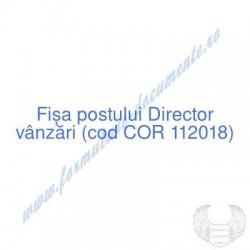 Director vânzări (cod COR...
