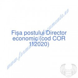 Director economic (cod COR...