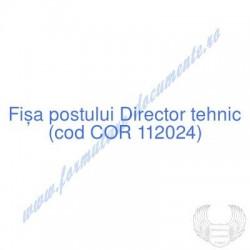 Director tehnic (cod COR...