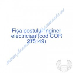 Inginer electrician (cod...