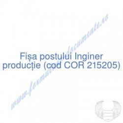 Inginer producţie (cod COR...