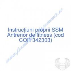 Antrenor de fitness (cod...