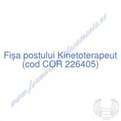 Kinetoterapeut (cod COR...