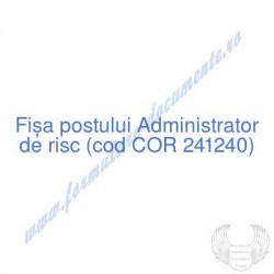 Administrator de risc (cod...