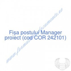 Manager proiect (cod COR...