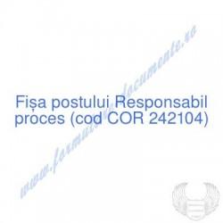 Responsabil proces (cod COR...
