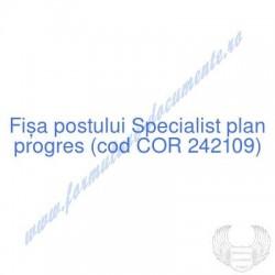 Specialist plan progres...