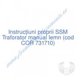 Traforator manual lemn (cod...