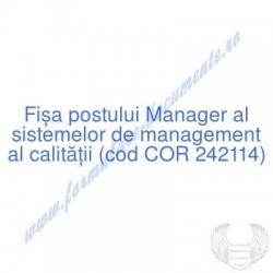 Manager al sistemelor de...