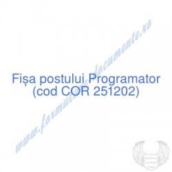 Programator (cod COR...