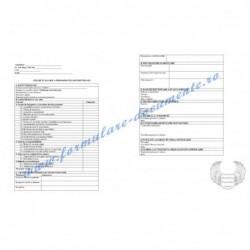Fișă de evaluare a performanțelor individuale pentru Tehnician electromecanic (cod COR 311305)