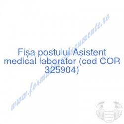 Asistent medical laborator...