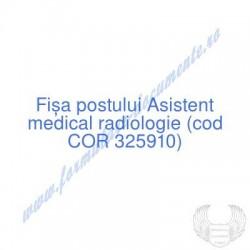 Asistent medical radiologie...