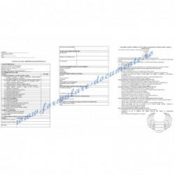 Fișă de evaluare a performanțelor individuale pentru Contabil (cod COR 331302)