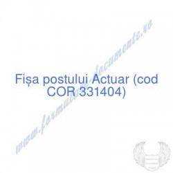 Actuar (cod COR 331404) -...