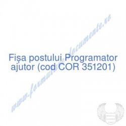 Programator ajutor (cod COR...