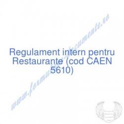 Restaurante (cod CAEN 5610)...