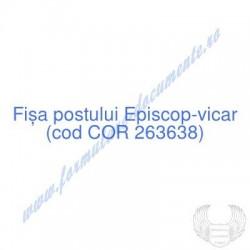 Episcop-vicar (cod COR...