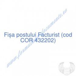Facturist (cod COR 432202)...