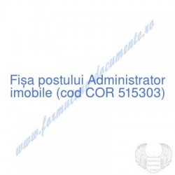 Administrator imobile (cod...