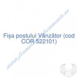 Vânzător (cod COR 522101) -...