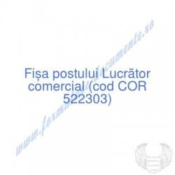 Lucrător comercial (cod COR...