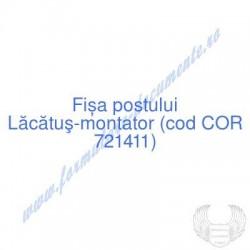 Lăcătuş-montator (cod COR...