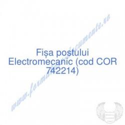 Electromecanic (cod COR...