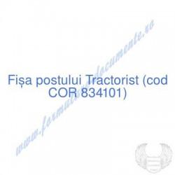 Tractorist (cod COR 834101)...