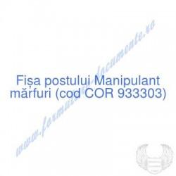 Manipulant mărfuri (cod COR...