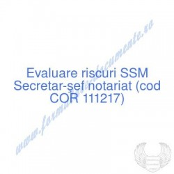 Secretar-şef notariat (cod...