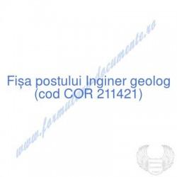 Inginer geolog (cod COR...