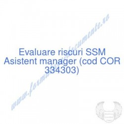 Asistent manager (cod COR...