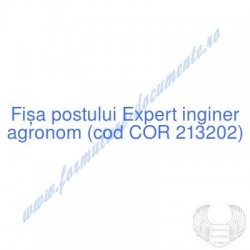 Expert inginer agronom (cod...
